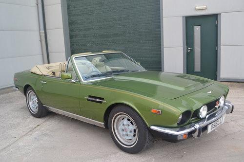 1979 Aston Martin V8 Volante (manual) For Sale (picture 4 of 6)