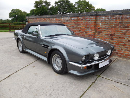 1988 Aston Martin V8 Vantage Volante 'X Pack' SOLD (picture 3 of 6)