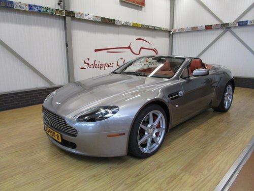 2007 Aston Martin V8 Vantage Roadster For Sale (picture 1 of 6)