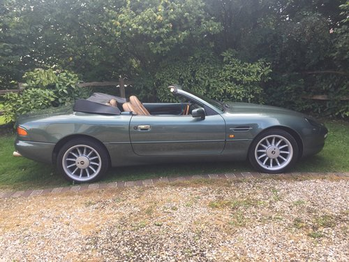 1995 Rare Manual DB7 Volante For Sale (picture 2 of 6)