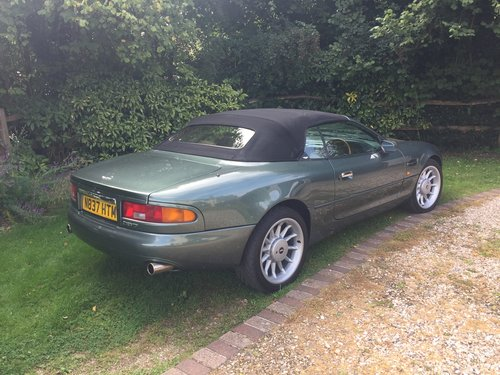 1995 Rare Manual DB7 Volante For Sale (picture 3 of 6)