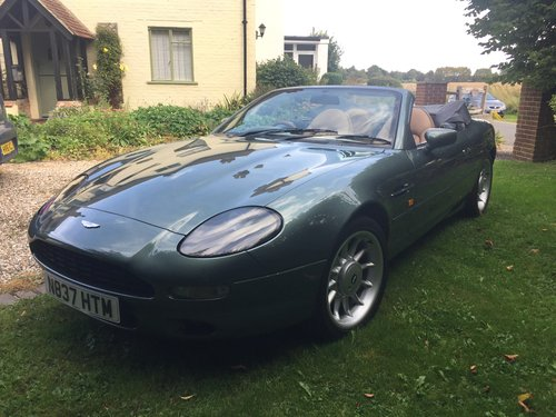 1995 Rare Manual DB7 Volante For Sale (picture 4 of 6)