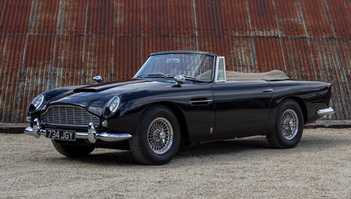 1963 Aston Martin DB5 Convertible For Sale (picture 1 of 6)