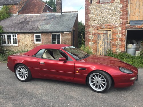 1996 Stunning Cleveland Red DB7 Volante For Sale (picture 1 of 6)