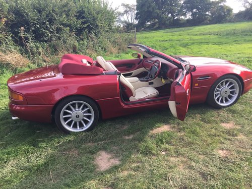 1996 Stunning Cleveland Red DB7 Volante For Sale (picture 3 of 6)