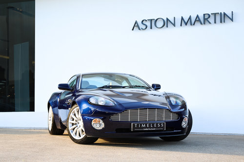 2003 Aston Martin Vanquish Coupe For Sale (picture 1 of 6)