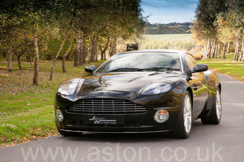 2007 Aston Martin Vanquish S Ultimate Edition For Sale (picture 2 of 6)