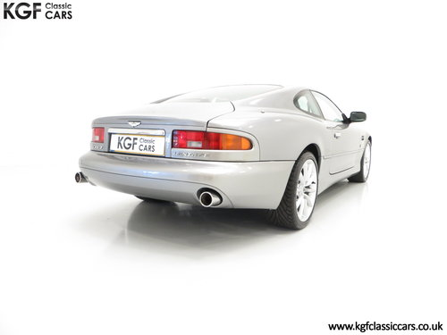 2001 A Seductive Aston Martin DB7 Vantage with 38,533 Miles SOLD (picture 5 of 6)
