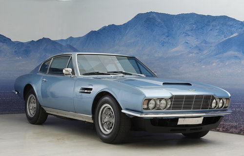 1971 Aston Martin DBSV8 Series 1 5,4 L 5 speed manuel gearbox. For Sale (picture 1 of 6)