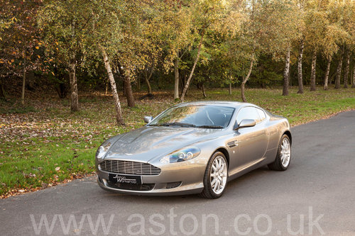 2005 Aston Martin DB9 Coupe SOLD (picture 1 of 6)