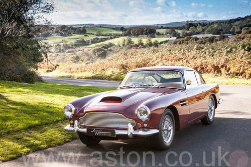 1960 Aston Martin DB4 Series II SOLD (picture 1 of 6)