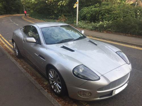 Aston Martin Vanquish 2004 - Just 13,000 Miles and with FSH For Sale (picture 1 of 6)