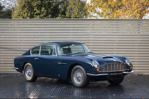 1967 Aston Martin DB6 AUTOMATIC For Sale (picture 1 of 6)