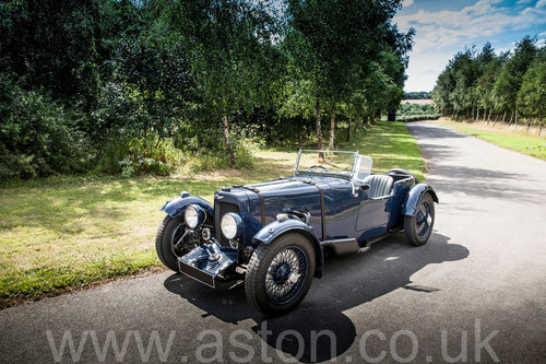 1935 Aston Martin Tourer 1 1/2 Litre For Sale (picture 1 of 6)