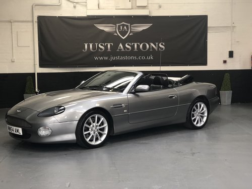 2004 Aston Martin DB7 Vantage Volante 25k Miles FAMSH  For Sale (picture 1 of 6)