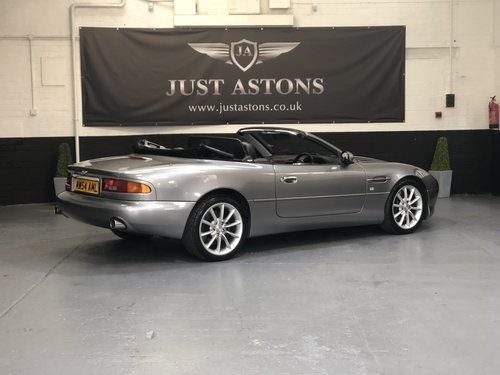2004 Aston Martin DB7 Vantage Volante 25k Miles FAMSH  For Sale (picture 3 of 6)