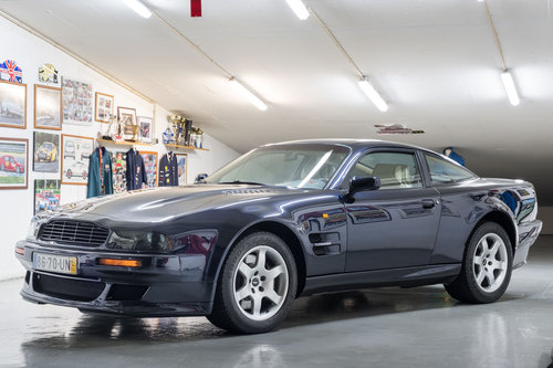 1996 Aston Martin Vantage V550 - LEFT HAND DRIVE SOLD (picture 1 of 6)