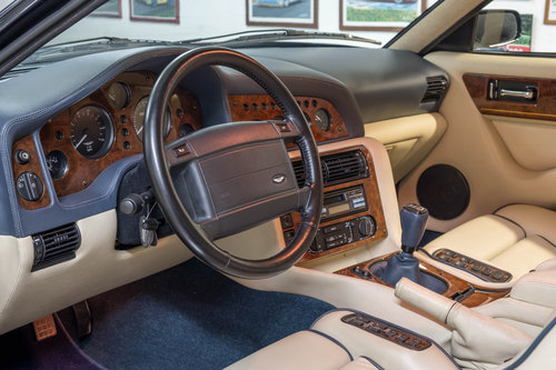 1996 Aston Martin Vantage V550 - LEFT HAND DRIVE For Sale (picture 5 of 6)