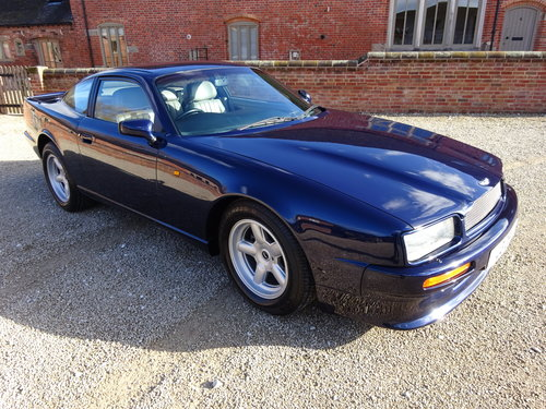 ASTON MARTIN VIRAGE 1991 COVERED 38K MILES FROM NEW STUNNING For Sale (picture 1 of 6)