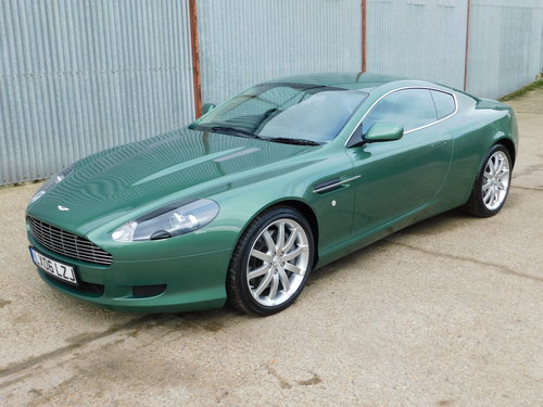 Very Rare 2006 Aston Martin DB9 Manual Gearbox For Sale (picture 1 of 6)