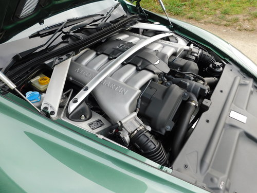 Very Rare 2006 Aston Martin DB9 Manual Gearbox For Sale (picture 6 of 6)