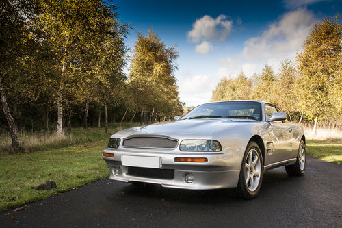 1997 Aston Martin V8 Coupe SOLD (picture 1 of 6)