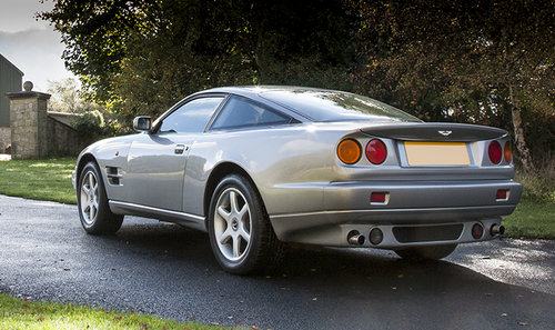 1997 Aston Martin V8 Coupe SOLD (picture 4 of 6)