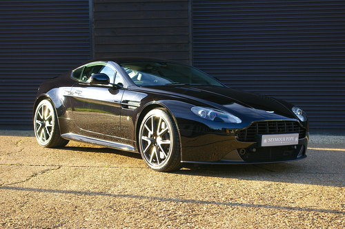 2014 Aston Martin Vantage 4.7 V8 Manual Coupe (12,923 miles) SOLD (picture 1 of 6)