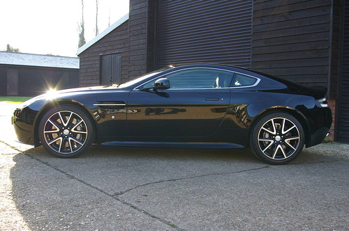 2014 Aston Martin Vantage 4.7 V8 Manual Coupe (12,923 miles) SOLD (picture 2 of 6)