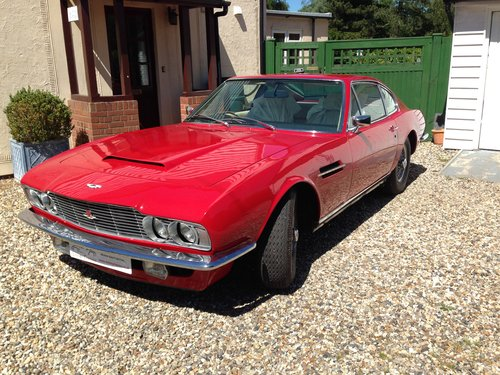 1971 Aston Martin DBS Sports Auto Saloon - Red For Sale (picture 1 of 6)