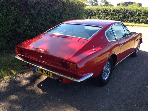 1971 Aston Martin DBS Sports Auto Saloon - Red For Sale (picture 3 of 6)