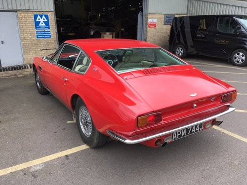 1971 Aston Martin DBS Sports Auto Saloon - Red For Sale (picture 5 of 6)