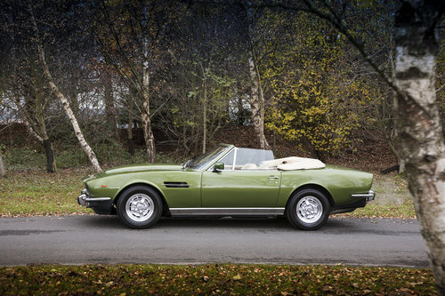 1979 Aston Martin V8 EFI Volante 6 Speed Automatic For Sale (picture 1 of 6)