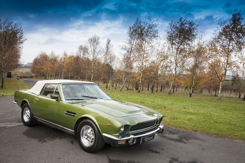 1979 Aston Martin V8 EFI Volante 6 Speed Automatic For Sale (picture 2 of 6)