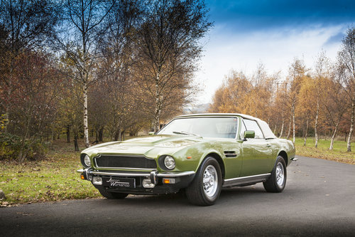 1979 Aston Martin V8 EFI Volante 6 Speed Automatic For Sale (picture 3 of 6)