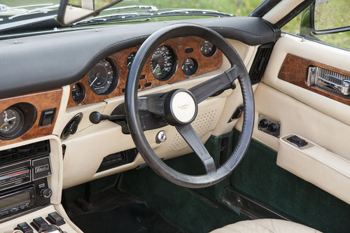 1979 Aston Martin V8 EFI Volante 6 Speed Automatic For Sale (picture 4 of 6)