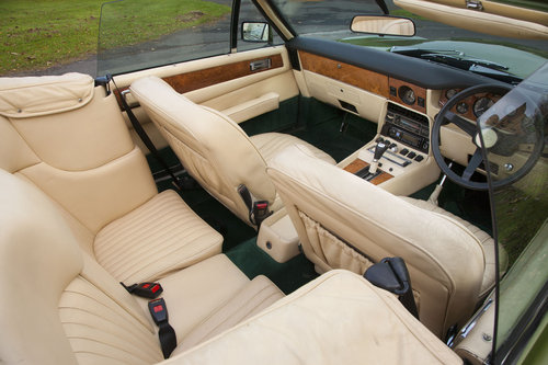 1979 Aston Martin V8 EFI Volante 6 Speed Automatic For Sale (picture 5 of 6)