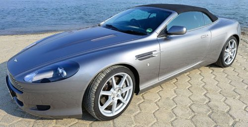 2005 REDUCED - BEAUTIFUL LOW MILEAGE RHD DB9 VOLANTE IN GERMANY For Sale (picture 1 of 6)