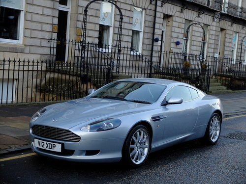 2004 ASTON MARTIN DB9 - 1 OWNER WITH TOTAL AMSH FROM NEW - SOLD (picture 1 of 6)