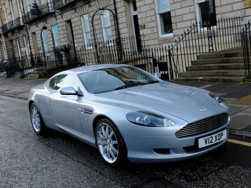 2004 ASTON MARTIN DB9 - 1 OWNER WITH TOTAL AMSH FROM NEW - SOLD (picture 2 of 6)
