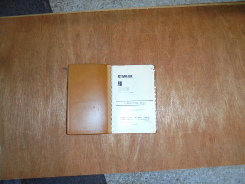 Aston Martin DBS V8 Instruction Book For Sale (picture 2 of 2)