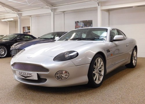 2002 ASTON MARTIN DB7 VANTAGE ** ONLY 11,200 MILES ** FOR SALE For Sale (picture 1 of 6)