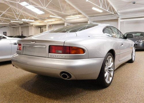 2002 ASTON MARTIN DB7 VANTAGE ** ONLY 11,200 MILES ** FOR SALE For Sale (picture 2 of 6)