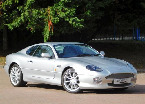2002 ASTON MARTIN DB7 VANTAGE ** ONLY 11,200 MILES ** FOR SALE For Sale (picture 4 of 6)