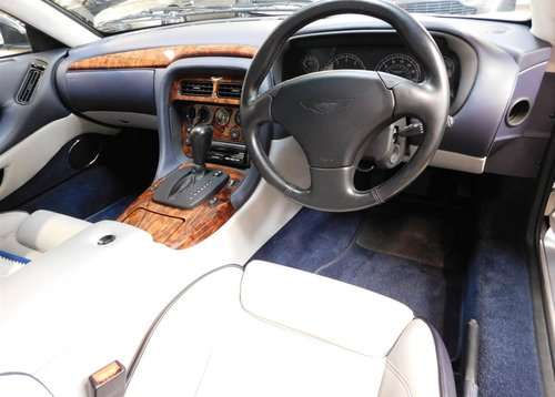 2002 ASTON MARTIN DB7 VANTAGE ** ONLY 11,200 MILES ** FOR SALE For Sale (picture 6 of 6)