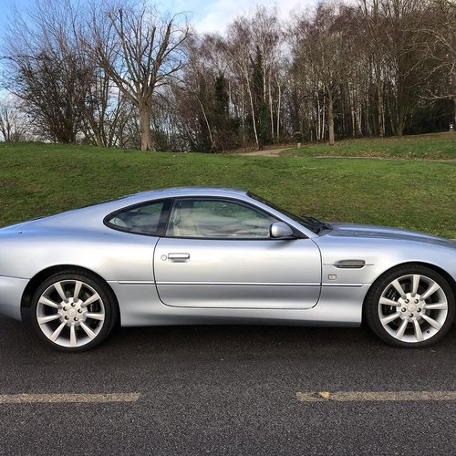 2004 DB7 Vantage V12 Auto FSH For Sale (picture 1 of 6)