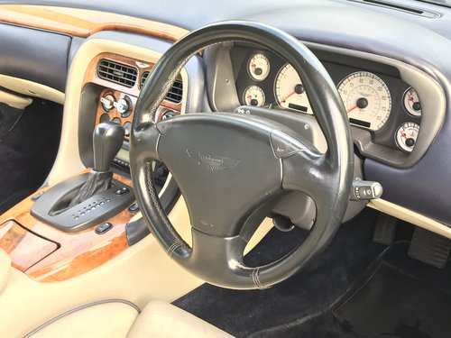 2004 DB7 Vantage V12 Auto FSH For Sale (picture 6 of 6)