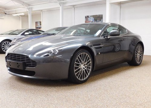 2012 ASTON MARTIN V8 4.7 VANTAGE COUPE MANUAL FOR SALE For Sale (picture 1 of 6)