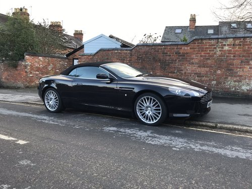 2009 Stunning Aston Martin DB9 Volante with 31k & full history  For Sale (picture 1 of 6)