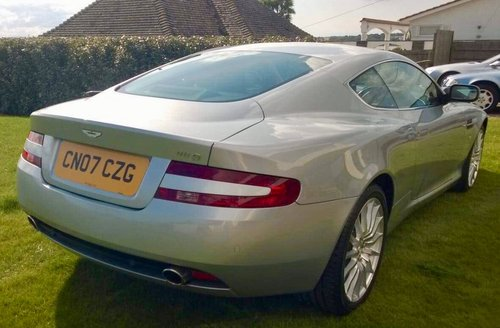 2007 Aston Martin DB9 Coupe For Sale (picture 3 of 6)